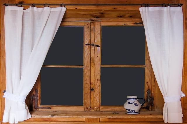 lesena okna dihanje