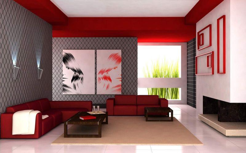 Ideje za pleskanje dnevne sobe